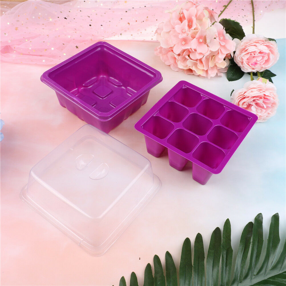 6-pore plant seeds grow box insert propagation nursery seedling starter tray ^F
