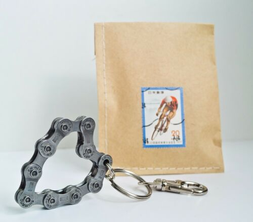 Fahrrad Schlüsselanhänger Herz Radsport Geschenk Fahrrad Upcycling