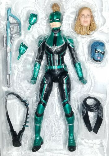 "Marvel Legends Starforce CAPTAIN MARVEL 6/"" Figure Brie Larson MINERVA cible"