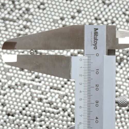 UK Stock 50Pcs 3mm Industrial Bicycle Stainless Steel Balls Ball Bearing