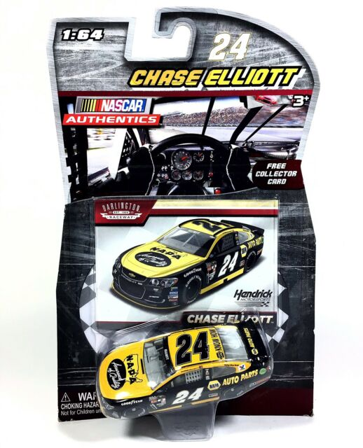 Chase Elliott #24 NASCAR Authentics 2016 NAPA Darlington Throwback 1/64 Die-Cast