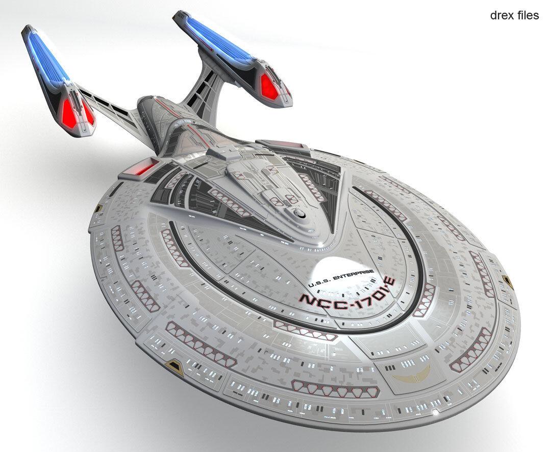 2013 AMT  1400 Star Trek Enterprise NCC-1701E Model Kit new in the box