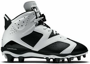 3ba8b5271cf6 Nike Air Jordan VI 6 Retro TD Oreo Cleats 645419-110 Football Black ...