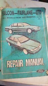 FORD-FALCON-FAIRLANE-LTD-REPAIR-MANUAL-ALL-MODELS-1988-ONWARDS