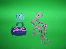 Monster High Kiyomi Haunterly Belt, Purse, Neck Piece Doll Clothing VGC