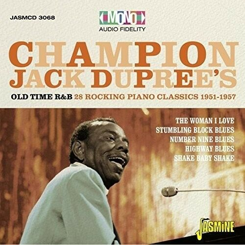 Champion Jack Dupree - 28 Rocking Piano Blues Classics 1951-1957 [New CD] UK - I