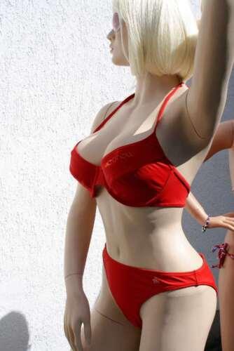 Slip ROT in 44 B 2019//20 Saison 440470 ONeill Neckholder TRÄGER Bügel Bikini