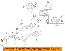 Exhaust Gasket For 09-16 Audi VW Q7 Touareg 3.0L V6 Turbocharged ZK24Q9