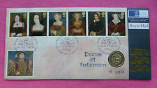 1997  ROYAL MINT HENRY VIII AND 6 WIVES ONE POUND COIN £1 FDC / PNC