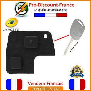 Bouton-Membrane-Cle-Pour-TOYOTA-2-Boutons-Yaris-Rav4-Celica-Land-Cruiser-Qualite