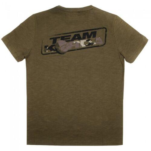 Details about  /Korda Kore TK Tee Olive Coarse Carp Match Fishing T-Shirt All Sizes