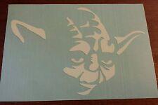 Vinyl Decal Sticker..YODA..Star Wars..Car Truck Window Laptop