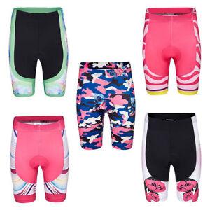 Women-039-s-Biking-Cycling-Spandex-Shorts-Knickers-MTB-Bicycle-Bike-Padded-Shorts