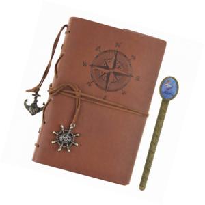 Lirener Retro PU Lederbuch A5 Tagebuch Notizbuch Notebook Skizzenbuch Journal Planer Organizer Notebook Sketchbook Memo Tagebuch Mit Schloss Code Passwort 210x147mm
