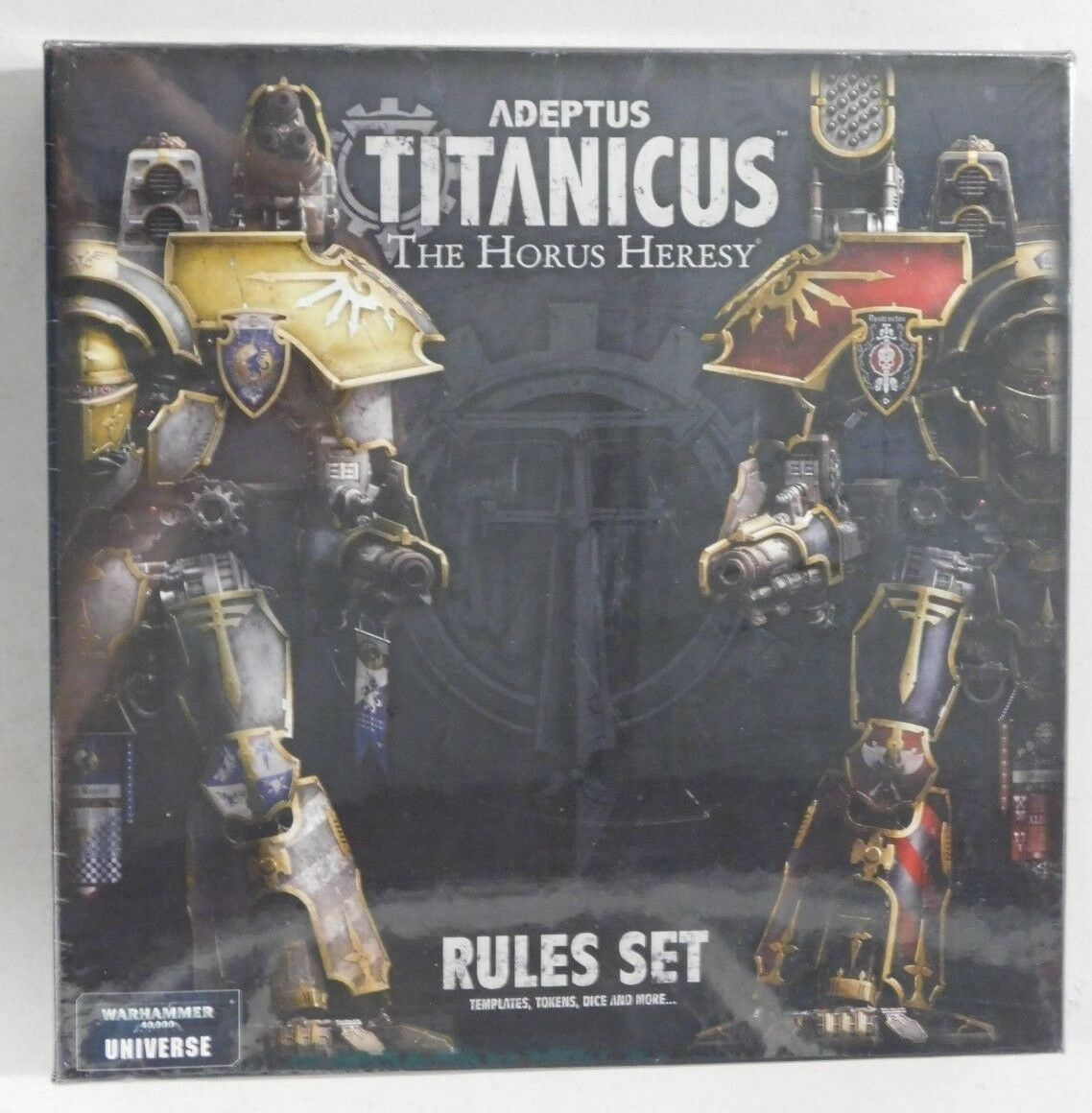 ADEPTUS TITANICUS RULES SET - Warhammer 40,000 Universe Supplement- NEW