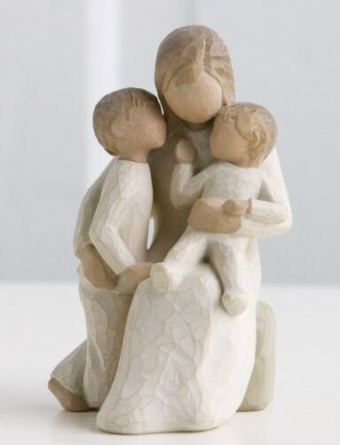 Willow Tree Quietly Figurine 26100 in Branded Gift Box