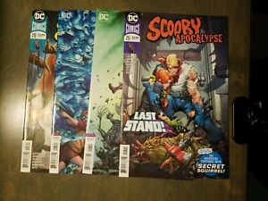Scooby-Apocalypse-4-Book-lot-25-25-variant-26-variant-28-first-print-VF-NM