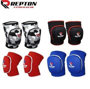Elasticated-Gel-Padded-Work-Wear-Knee-Pad-Protector-Brace-Support-Heavy-Duty-MMA