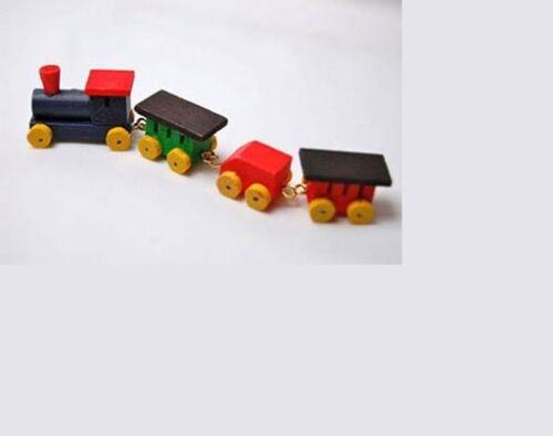 Dollhouse Miniatures 1:12 Scale Painted Train #JOS8621