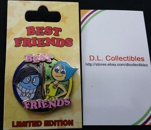 Disney-Inside-Out-Pixar-Best-Friends-Joy-and-Sadness-LE-2000-Pin