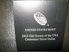 2013 Girl Scouts of the USA Centennial Commemorative Proof Silver Dollar