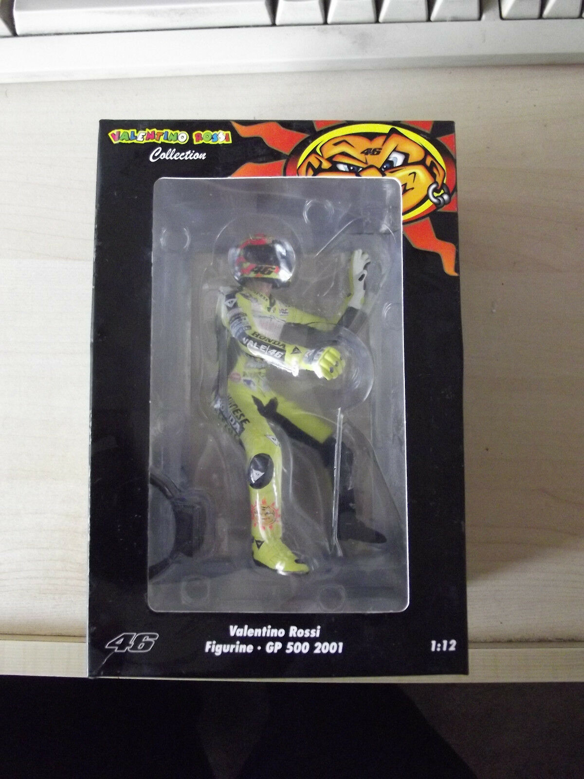 RARO LTD 7746pcs Minichamps che sta seduto Statuetta GP 500cc 2001 MOTOGP