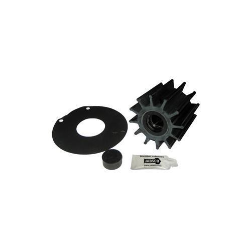 Jabsco impulsor Kit 12 Hoja De Neopreno inserto de plástico-Doble Unidad Unidad plástico-Doble plana 2cf8b5