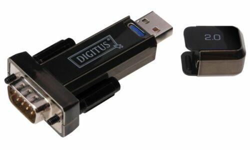 1 MBit//Sek. RS232 Adapter DIGITUS USB 2.0