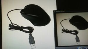 1800 DPI USB Wired Optical Gaming Mice Mouse Ergonomic Design For PC Laptop