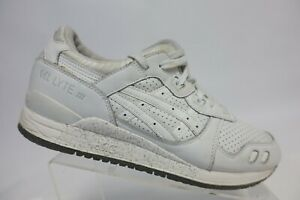 ASICS-Gel-Lyte-3-III-White-Sz-10-5-Men-Leather-Sneakers