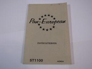 HONDA-ST1100-ST1100-1993-PAN-EUROPEAN-PAN-EUROPEAN-INSTRUCTIEBOEK