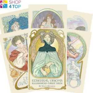ETHEREAL-VISION-ILLUMINATED-TAROT-DECK-KARTEN-ESOTERIC-US-GAMES-SYSTEMS-NEW