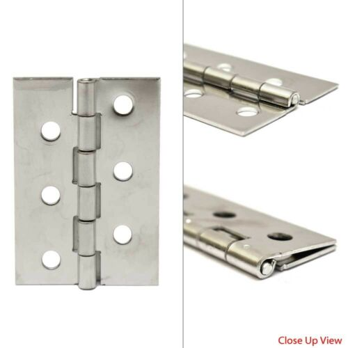 Skier/'s Choice Boat Piano Hinge 1082523 x 2 Inch 16 Gauge Stainless