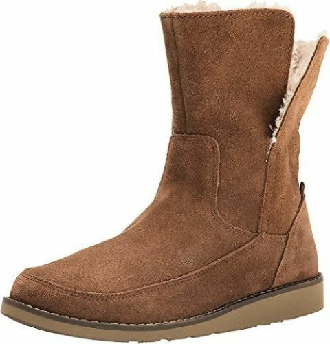 NEW sanuk 9.5 BOOTS Top BOOTIE SCARPE Leather Drop Top BOOTS Suede  95 Retail b55691