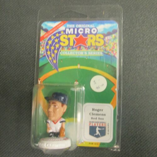 NIB Details about  /Roger Clemens 1995 Red Sox Original Micro Stars Collector/'s Series