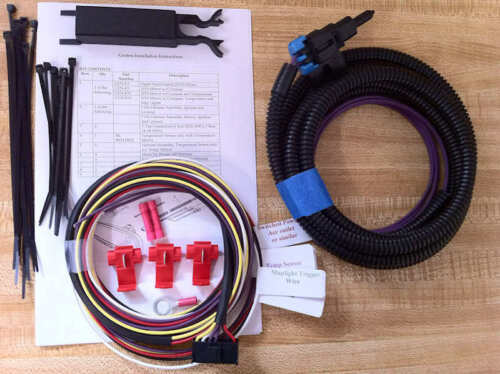 NEW Gentex OR Donnelly Maplight Compass Temperature Mirror Harness
