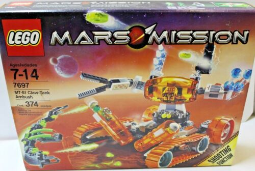 LEGO 7697 Mars Mission MT-51 Claw-Tank Ambush  NIB  FREE SHIPPING