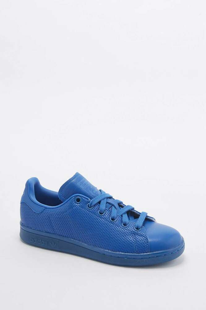 Adidas Originals Stan Smith Adicolor Sport S80246-Bleu-UK 5-  65 Neuf-