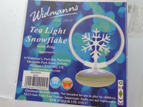 t light snowflake battery operated