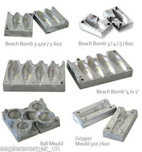 Storm-Die-Cast-Moulds-Sea-Fishing-Lead-Mould-Weight-Making