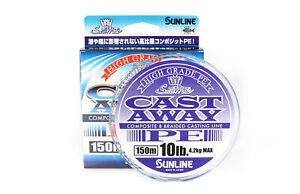 Sunline P.E Linie Cast Away PE 150m 10lb (4814)