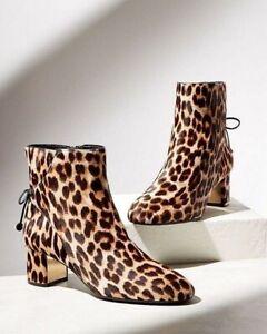 New TORY BURCH Leopard Print Calf Hair
