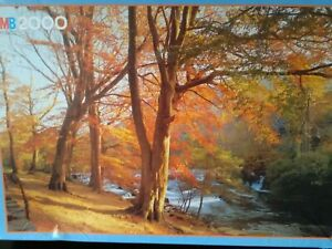 Jigsaw puzzles 2000 pieces Autumn in Wales - Excellent Condition - New