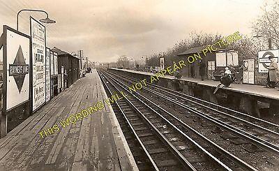 Eastcote to Harrow and Sudbury Lines. Rayners Lane Railway Station Photo 4