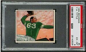 1950-Bowman-Football-5-Y-A-Tittle-Colts-RC-Rookie-HOF-PSA-6-EX-MT-NEW-LABEL-SP