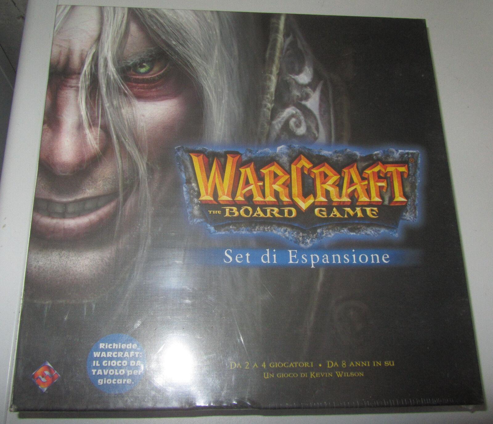 Warcraft: The Board Game Set Espansione Italiano Sigillato SEALED SPESE GRATIS