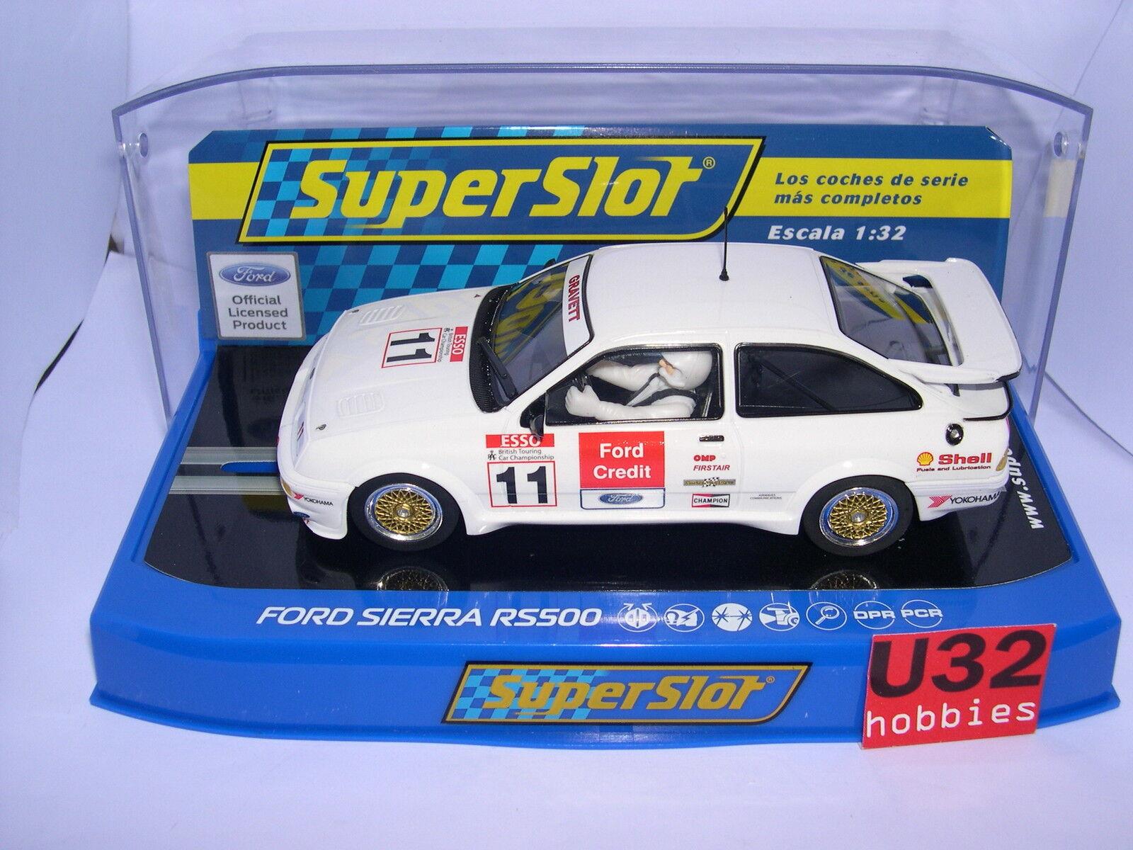 Superslot H3781 Ford  Sierra Rs  11 Btcc Bres Hatch 1990 Gravett Scalextric UK  più economico