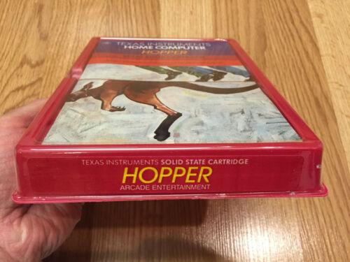 NEW CASE FRESH NIB HOPPER video game for Texas Instruments TI 99//4a Computer