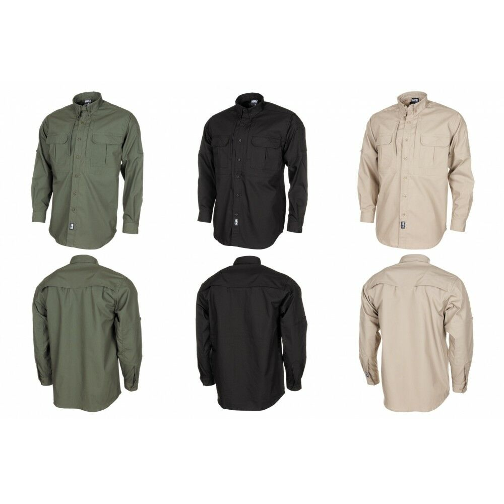 MFH High Defence camisa manga larga Attack Teflon RIP stop señores tiempo libre camisa Outdoor