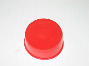 """FeO Red Free S/&H 200 Silicone Cap .480 I.D x 1.5/"""" Length x .060 Wall"""